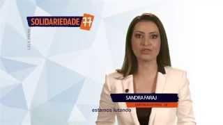 A Deputada Sandra Faraj na Propaganda Partidária