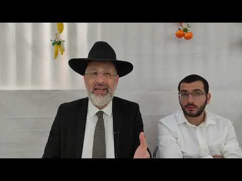 La soucca du chalom Léïlouy nichmat de Mordehaï Roger ben Yasmina zal