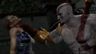 [GOD OF WAR 3] Kratos Vs Hera [TITAN MODE] [HQ]