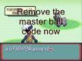 Infinite masterballs pokemon ruby sapphire