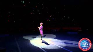 Ringling Bros. Presents LEGENDS Ringmaster Johnathan Lee Iverson in Hartford, CT