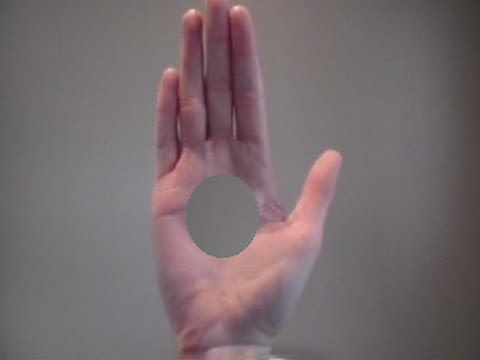 !!HOLE IN HAND TRICK!! - YouTube