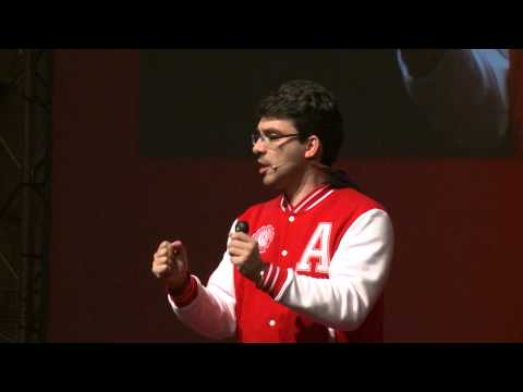 Palestra de Luis Rasquilha no TEDxO'Porto