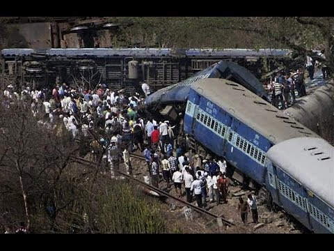 Passenger train derails in India; at least 19 dead