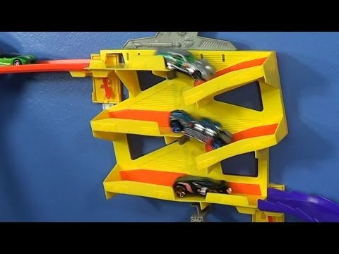 Switchback Slider For The Hot Wheels Wall Tracks Track System