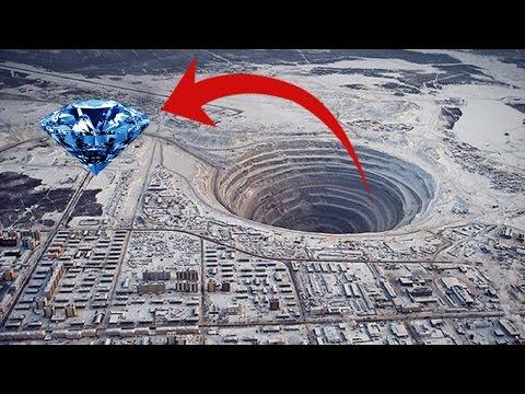 10 Mỏ Kim Cương Lớn Nhất Thế Giới