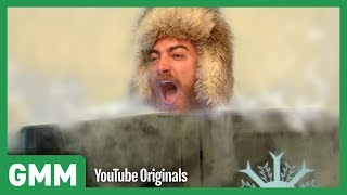 Freezing Our Bodies For 3 Minutes | Cryotherapy Test