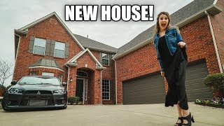 WE BOUGHT A NEW HOUSE AT 24!! (house tour)