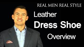 Men's Leather Dress Shoe Type Overview Video Balmoral