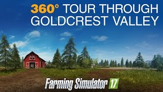 Farming Simulator 17 - 360°-os videó: Goldcrest Valley