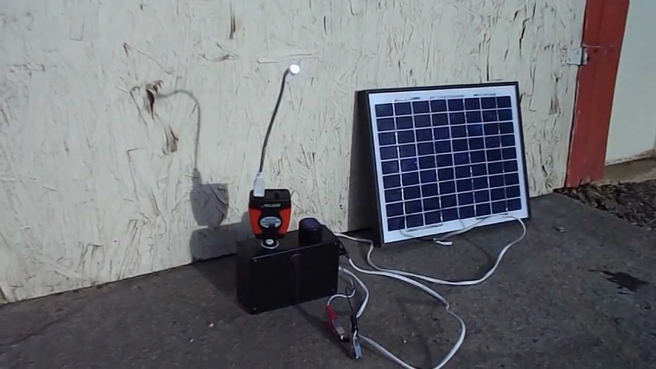 Panel Light June 2017 Wiring Solar Panels To Batteries Battery Images