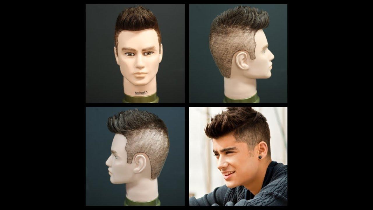 Zayn Malik Haircut Tutorial of One Direction | TheSalonGuy - YouTube