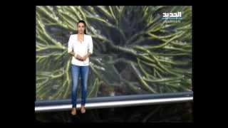 نشرة الطقس المسائية 16-07-2013 مع رانيا المذبوح