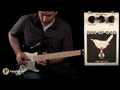 Wren and Cuff Box of War Fuzz Pedal