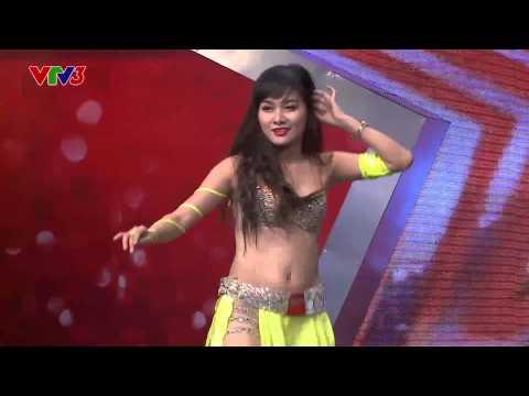 Vietnam's Got Talent 2014: Trịnh Huyền belly dance - Tập 2 - Ngày 05/10/2014