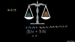 Preprosta enačba v enem koraku 1