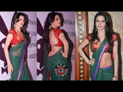 Sherlyn Chopra In Tight Choli 24-36-24