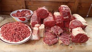 How To Butcher A Cow. A Top Of Beef. Beef Butchery. #SRP