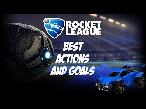 Rocket League - Best Actions And Goals #4