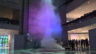 Mercedes-Benz Museum World's Highest Artificial Tornado