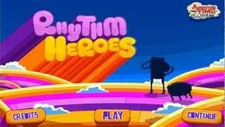 Cartoonnetwork.com Computer Games- Adventure Time Rhythm