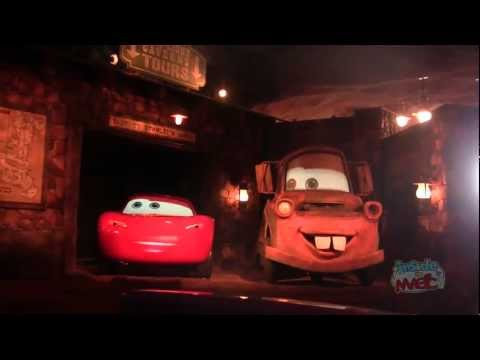 Full Ride: Radiator Springs Racers in Cars Land at Disney California Adventure POV HD