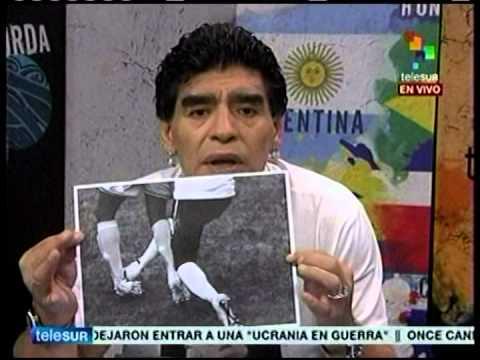Maradona criticó las decisiones de la FIFA en el Mundial
