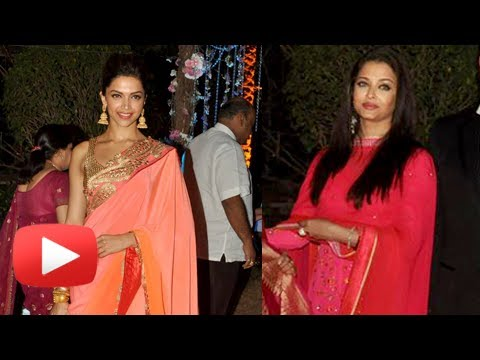 Aishwarya Rai Or Deepika Padukone At Ahana Deol Wedding - Who's HOT ?