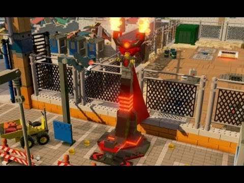 The LEGO Movie Videogame - A Look at All 100 Playable Characters (Gameplay)