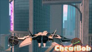 Saints Row The Third : Extra Helicopters Cheats & Gameplay