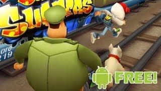 Jogos Grátis Para Android: Subway Surfers (Gameplay