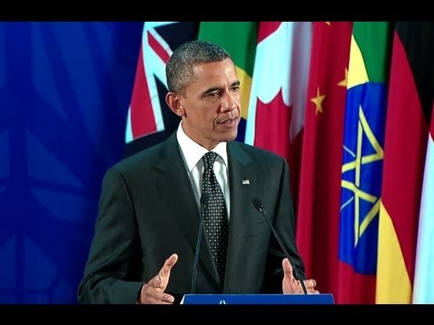 President Obama holds a Press Conference at the G20 Summit