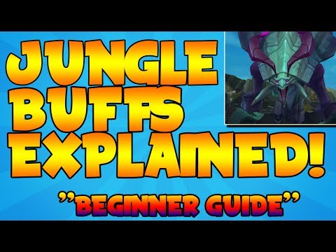 LOL BEGINNERS GUIDE 2017 - JUNGLE BUFFS EXPLAINED 2017- LOL DRAGONS EXPLAINED