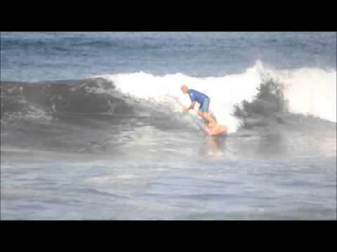July 03 2014 Surfing Playa Hermosa Costa Rica