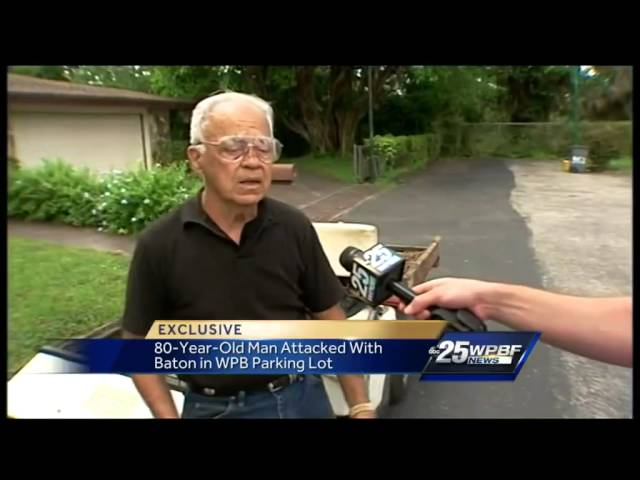 Elderly road-rage attack victim describes violent confrontation