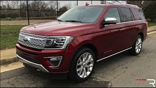 2018 Ford Expedition Platinum – The New King of Big SUV's