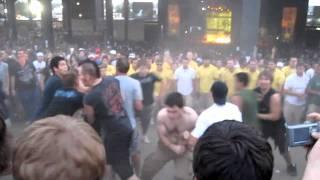 Uproar Festival 2010 Mosh Pit - Tinley Park, IL