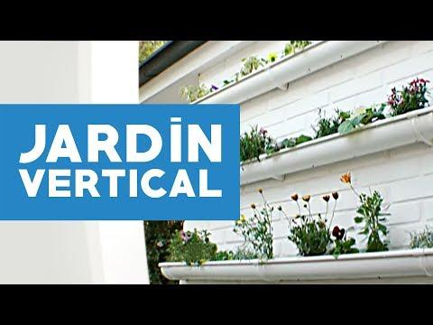 Como hacer un jardin vertical artificial