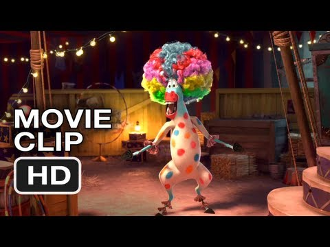 Madagascar 3 Europes Most Wanted - Movie CLIP #1 - Afro Circus (2012) HD Movie