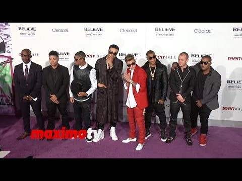 "Justin Bieber's ""Believe"" World Premiere Justin Bieber, Usher, Jaden Smith, Kylie Jenner and More"