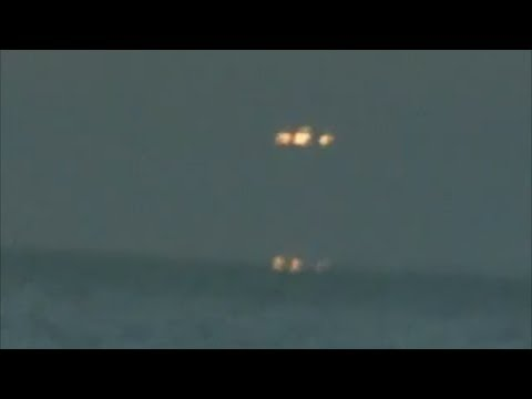 Increible Ovni | Osni sale del mar en Monte Hermoso Argentina 14/1/14 UFO sightings real