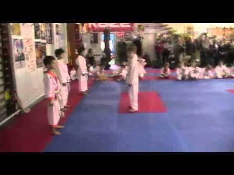 Экзамен по каратэ 3 ноября 2013 года в клубе Тигренок.ч.3