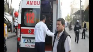 Manisa'da Servis Aracı kaza yaptı 1'i Ağır 20 Yaralı