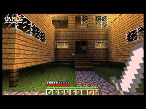 Minecraft Trio Episode 2: 'Nawiedzony' Zamek