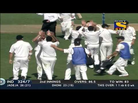 India 2nd Innings | Fall of Wickets | India vs New Zealand | Day 3 & 4 | 1st Test | 2014