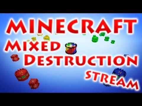 RedCrafting - Стрим - Mixed Destruction