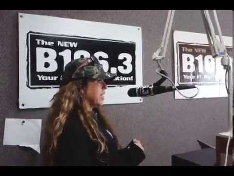 RIO on the AIR with DJ C.C.CRUZ 106.3 R&B FM RADIO STATION in Texas pt 1