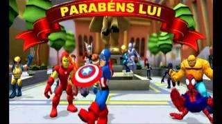 Aniversário Hérois Marvel