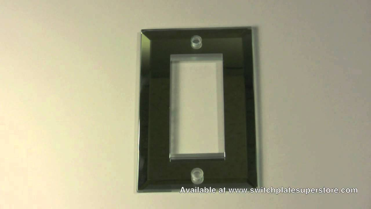 Mirror wall plates