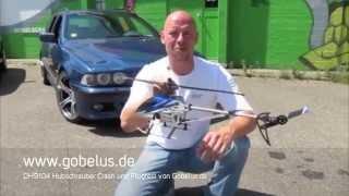 Double Horse DH 9104 Single Speed Crash Test Flug Test Von